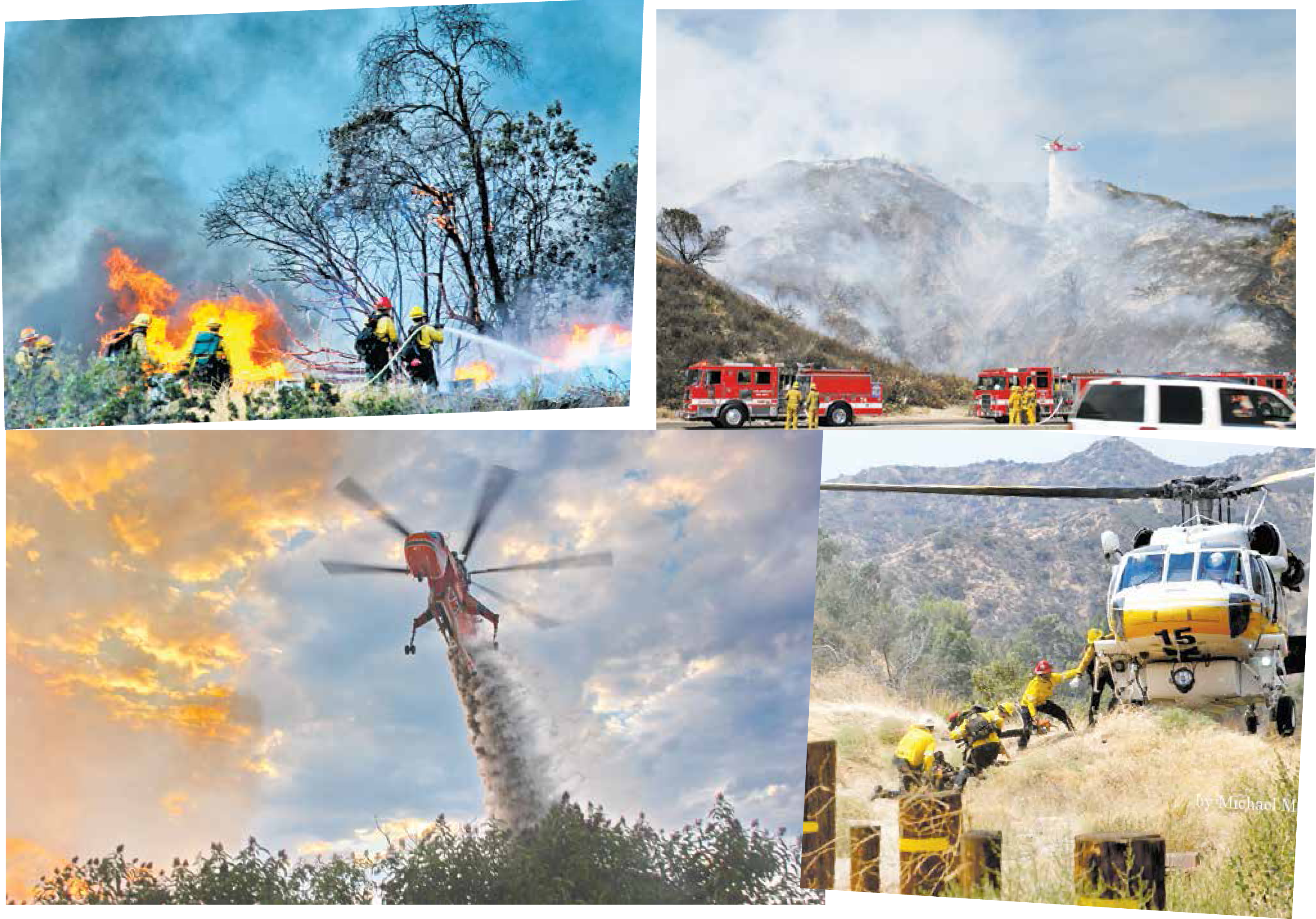 A Few Shots From The La Tuna Canyon Fire!