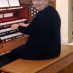 Andrea Anderson, Organist and Music Coordinator for the Holy Redeemer Catholic Church, Montrose.