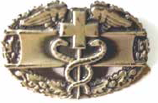 The Combat Medic Badge